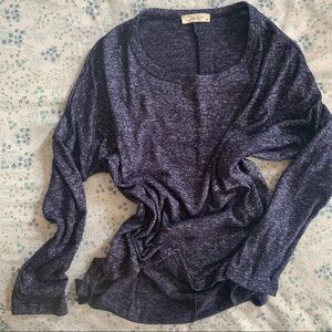 Olivia Rae Jersey Knit Cropped Tee 3/4 Sleeve M